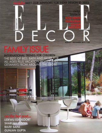 Elle Decor India • Settembre 2012