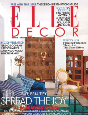 Elle Decor • Novembre 2013