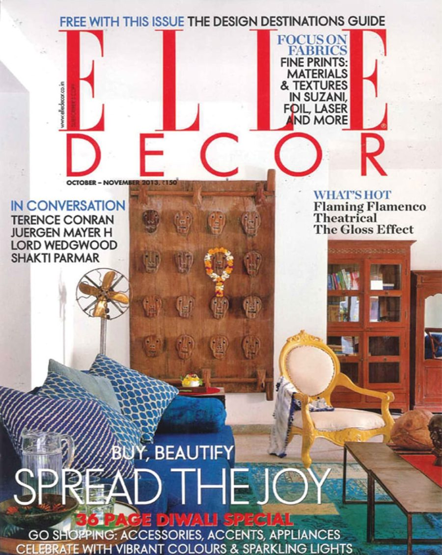 Elle Decor • November 2013
