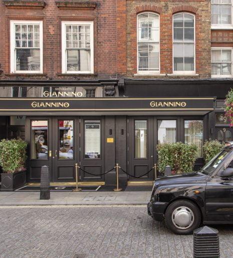Ristorante Giannino Londra