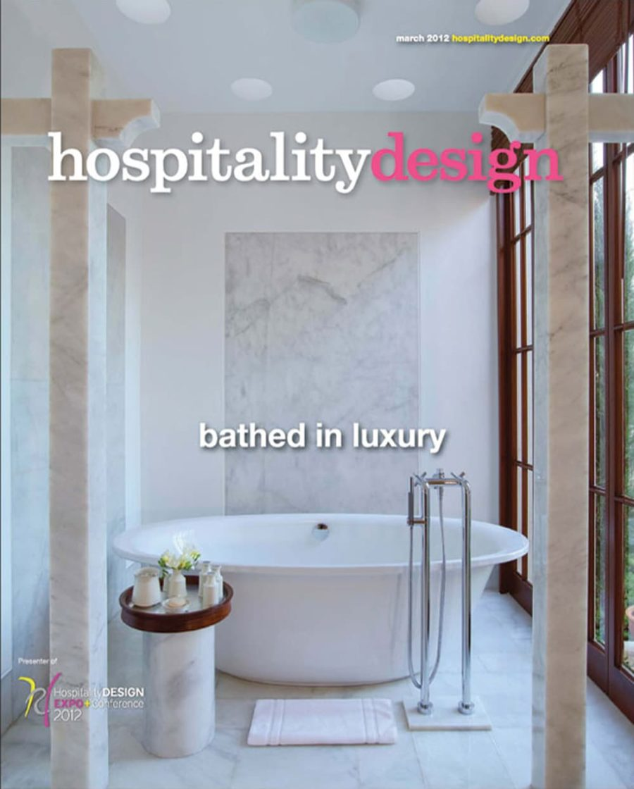 Hospitality Design • March 2012